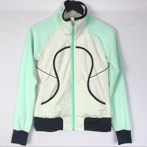 LULULEMON Rare Seawheeze Run Track Attack Jacket